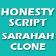Honesty Script - Sarahah Website Clone
