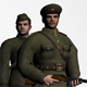 Soviet soldier of WW2 - 3DOcean Item for Sale