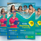 Kids Swimming Training Flyer