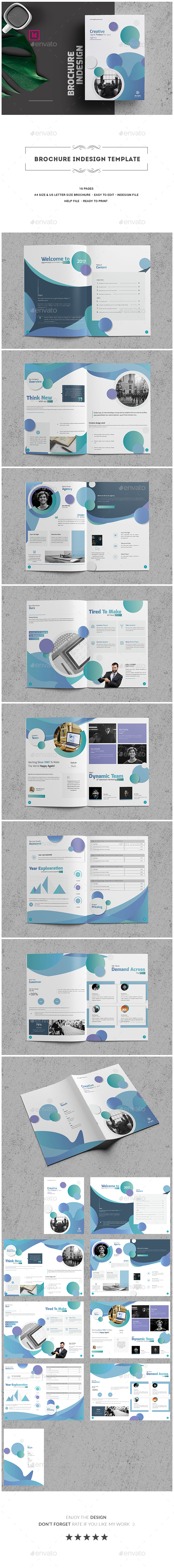 GraphicRiver Brochure Indesign Template 20467746