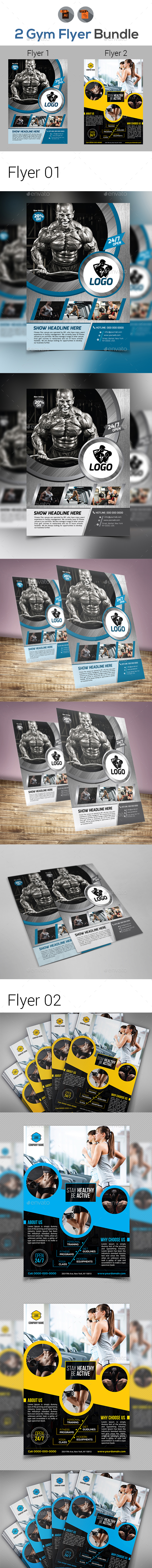 Gym Flyer Bundle - Corporate Flyers