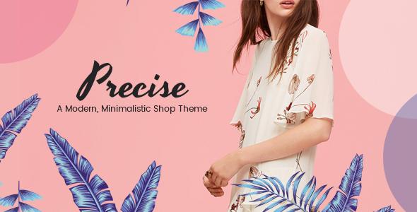 ThemeForest Precise A Modern Minimalistic Shop Theme 20271127