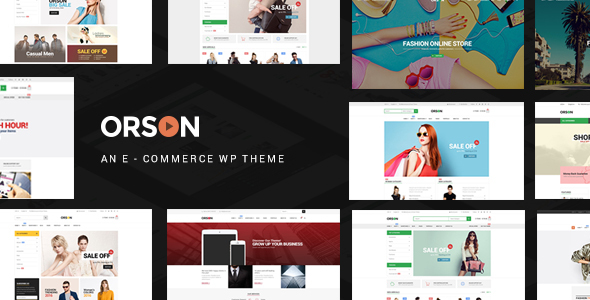 Orson - Innovative Ecommerce WordPress Theme for Online Stores - WooCommerce eCommerce