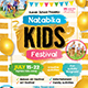 Gold Kids Festival Flyer - GraphicRiver Item for Sale