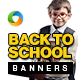 Back To School Banners - GraphicRiver Item for Sale