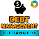 Debt Management Animated GIF Banners