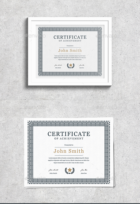Vintage Certificate - Certificates Stationery