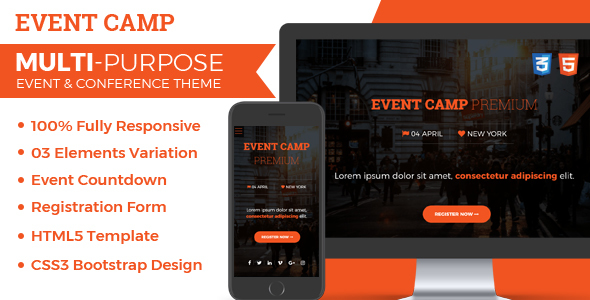 Image of Event Camp - Premium Event Conference HTML