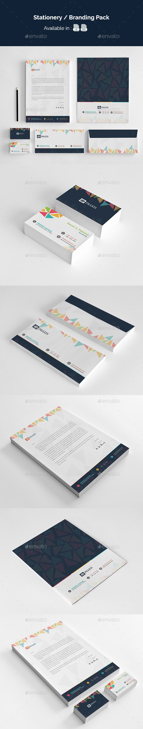 Stationery / Branding Pack - Stationery Print Templates