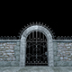 Gates And Stone Walls - VideoHive Item for Sale