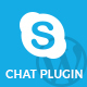 Skype chat plugin for website - CodeCanyon Item for Sale