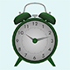 Fully Animatable Alarm Clock - 3DOcean Item for Sale