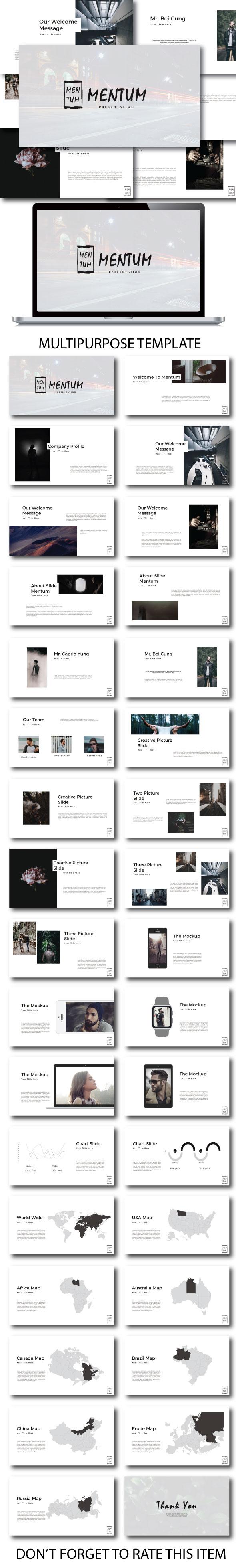Mentum Multipurpose Google Slide - Google Slides Presentation Templates