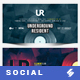Electronic Music Party vol.28 - Facebook Post Banner Templates - GraphicRiver Item for Sale