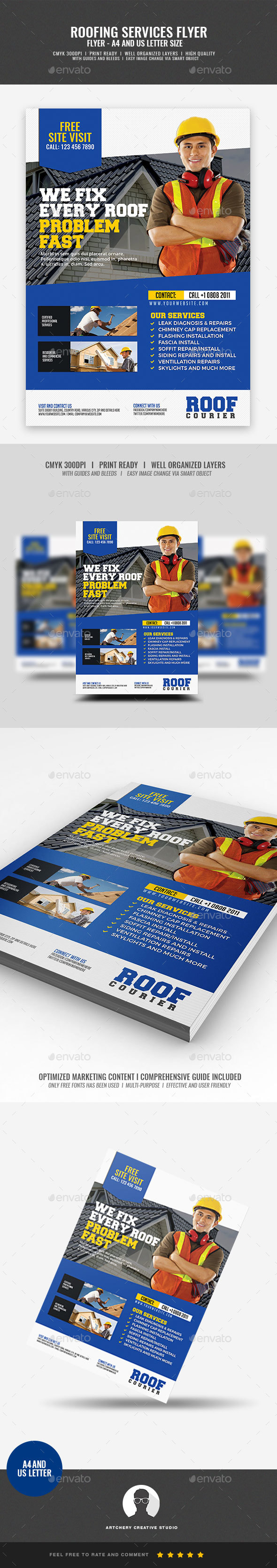 Roofing Flyer - Corporate Flyers