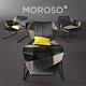 Moroso tropicalia chaise longue - 3DOcean Item for Sale