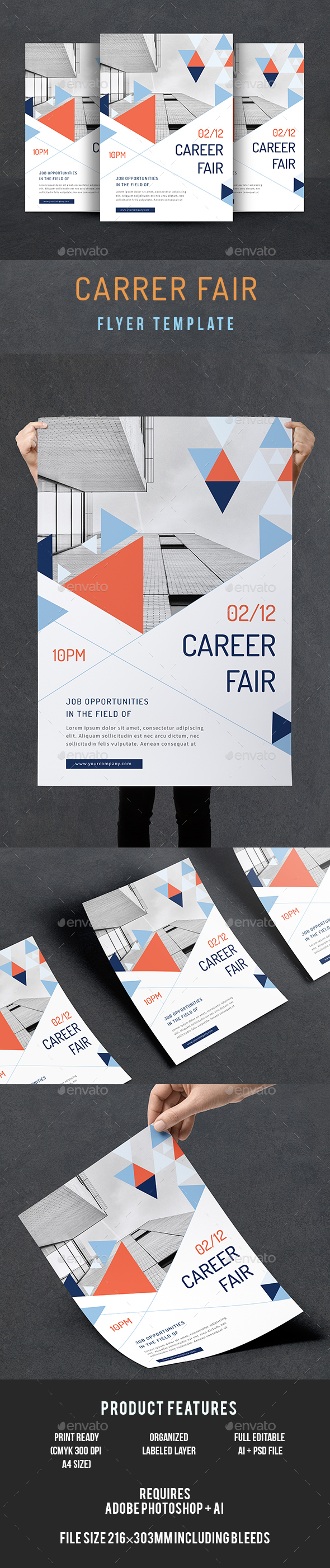Career Fair Flyer - Corporate Flyers