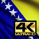 Bosnia and Herzegovina Flag 4K - VideoHive Item for Sale