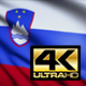 Slovenia Flag 4K - VideoHive Item for Sale