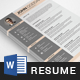 Resume Template 3 Pages