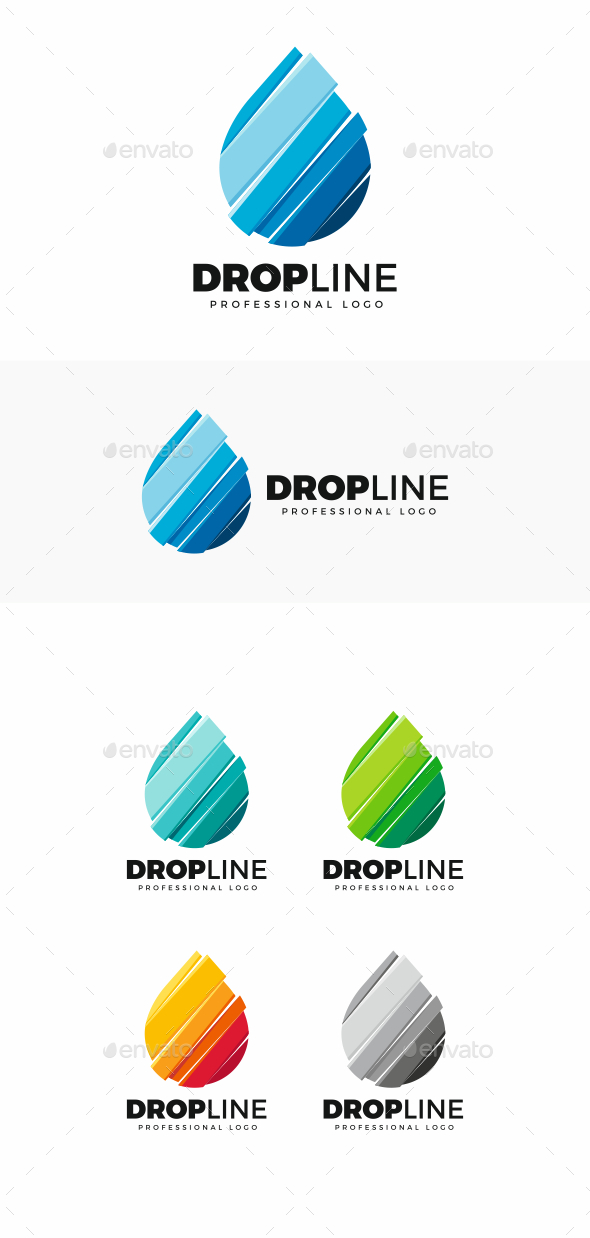 Drop - Symbols Logo Templates