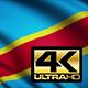 Democratic Republic of the Congo Flag 4K