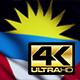 Antigua and Barbuda Flag 4K