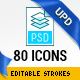 80 File Types Icons 2.0 - GraphicRiver Item for Sale