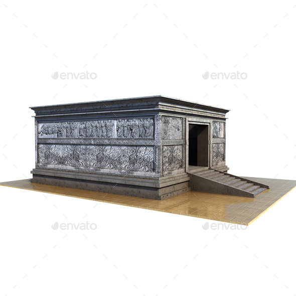 Ara Pacis. Rome - Architecture 3D Renders