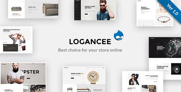 Image of Logancee - Multipurpose Responsive Drupal Theme