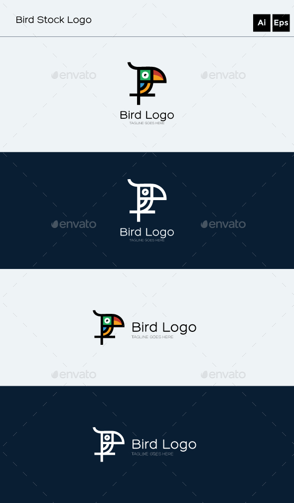GraphicRiver Bird Logo 20470177