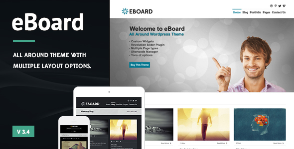 eBoard - All Around WordPress Theme