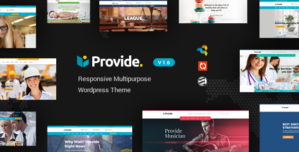 Provide | Responsive Multipurpose WordPress Theme