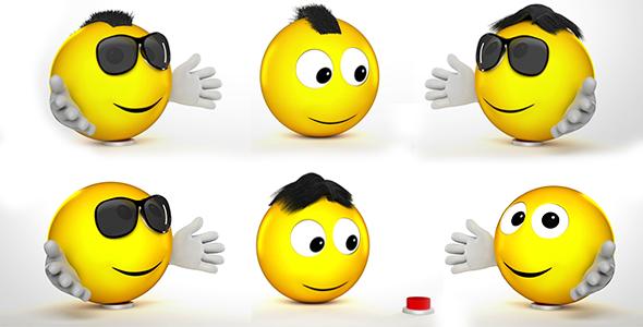 Funny Emoji Logo Reveal