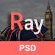 Ray - Email PSD Template - GraphicRiver Item for Sale