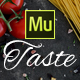 Taste - Restaurant, Cafe Muse Template