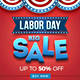 Labor Day Sale Banner - GraphicRiver Item for Sale