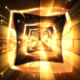 Golden Glow Square - VideoHive Item for Sale