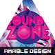 Sounds Zone Party Flyer