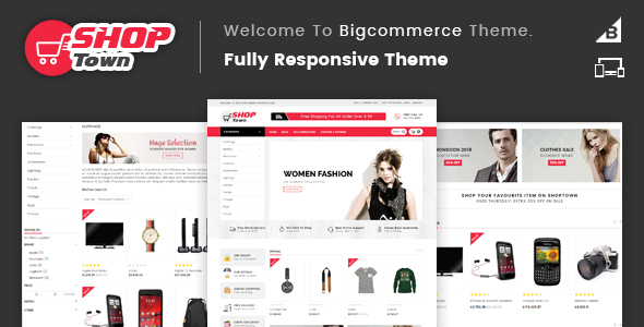 Shop Town - Multipurpose Stencil BigCommerce Theme - BigCommerce eCommerce