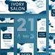 Ivory Salon Banner Pack