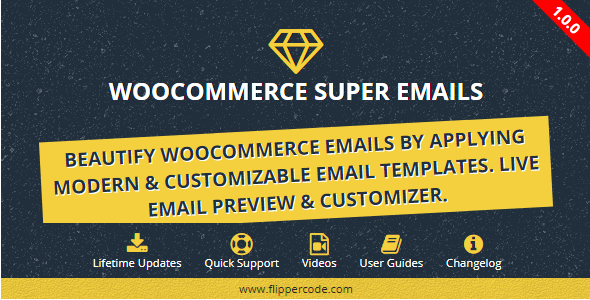 CodeCanyon WooCommerce Email Customizer WordPress Plugin 20471083