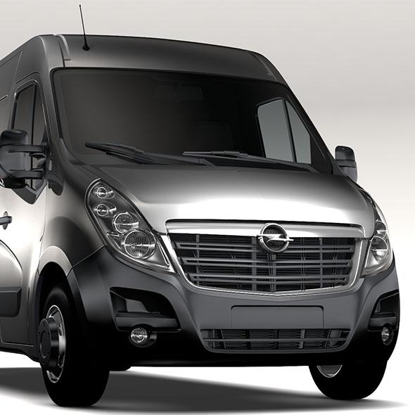 Opel Movano L3H2 Van 2016 - 3DOcean Item for Sale