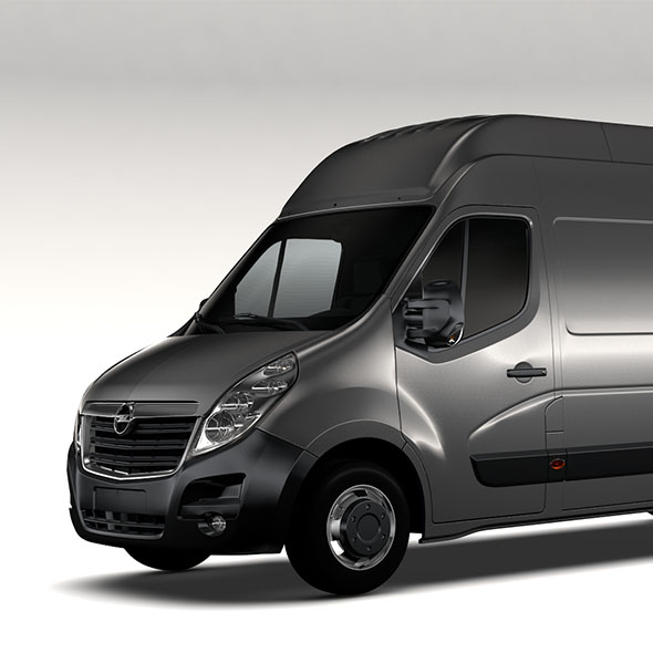 Opel Movano L4H3 Van 2016 - 3DOcean Item for Sale