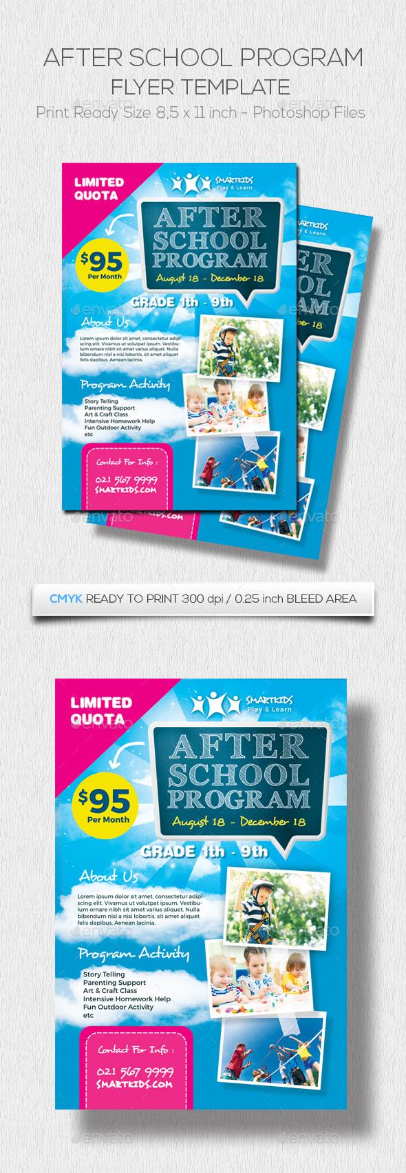 GraphicRiver After School Program 20471317