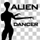 Alien Dancer Silhouette