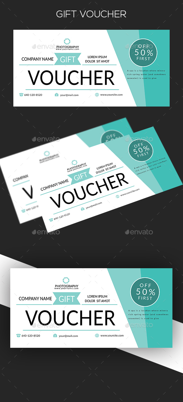 GraphicRiver Gift Voucher 20471336