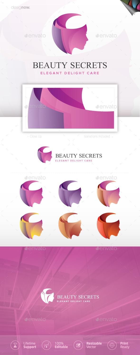 Beauty Secrets v2 Logo - Humans Logo Templates