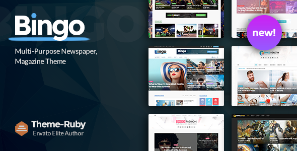 Bingo - Multi-Purpose Newspaper & Magazine Theme