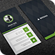Dark Vertical Business Card